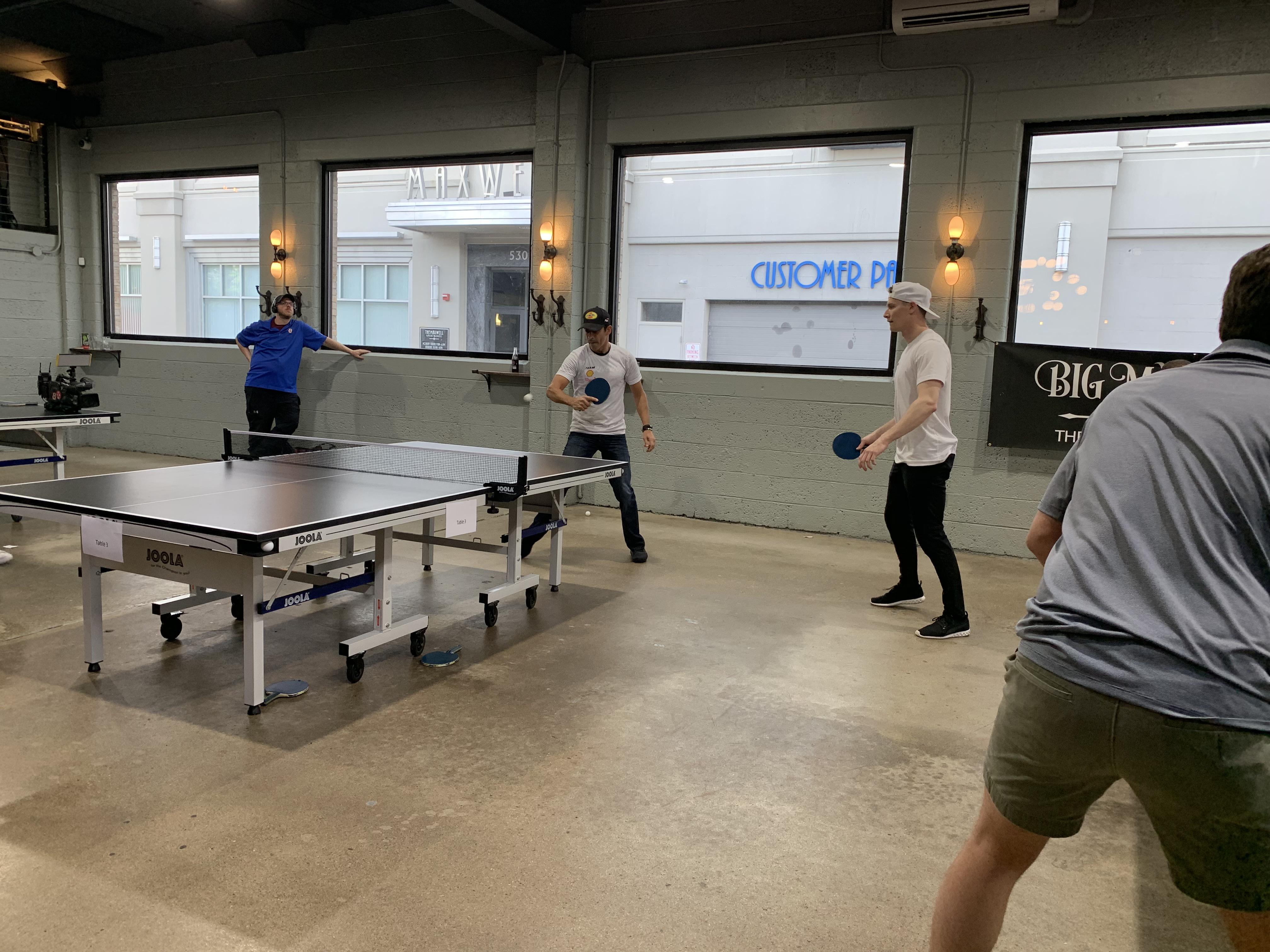 josef-newgarden-helio-castroneves-ping-pong