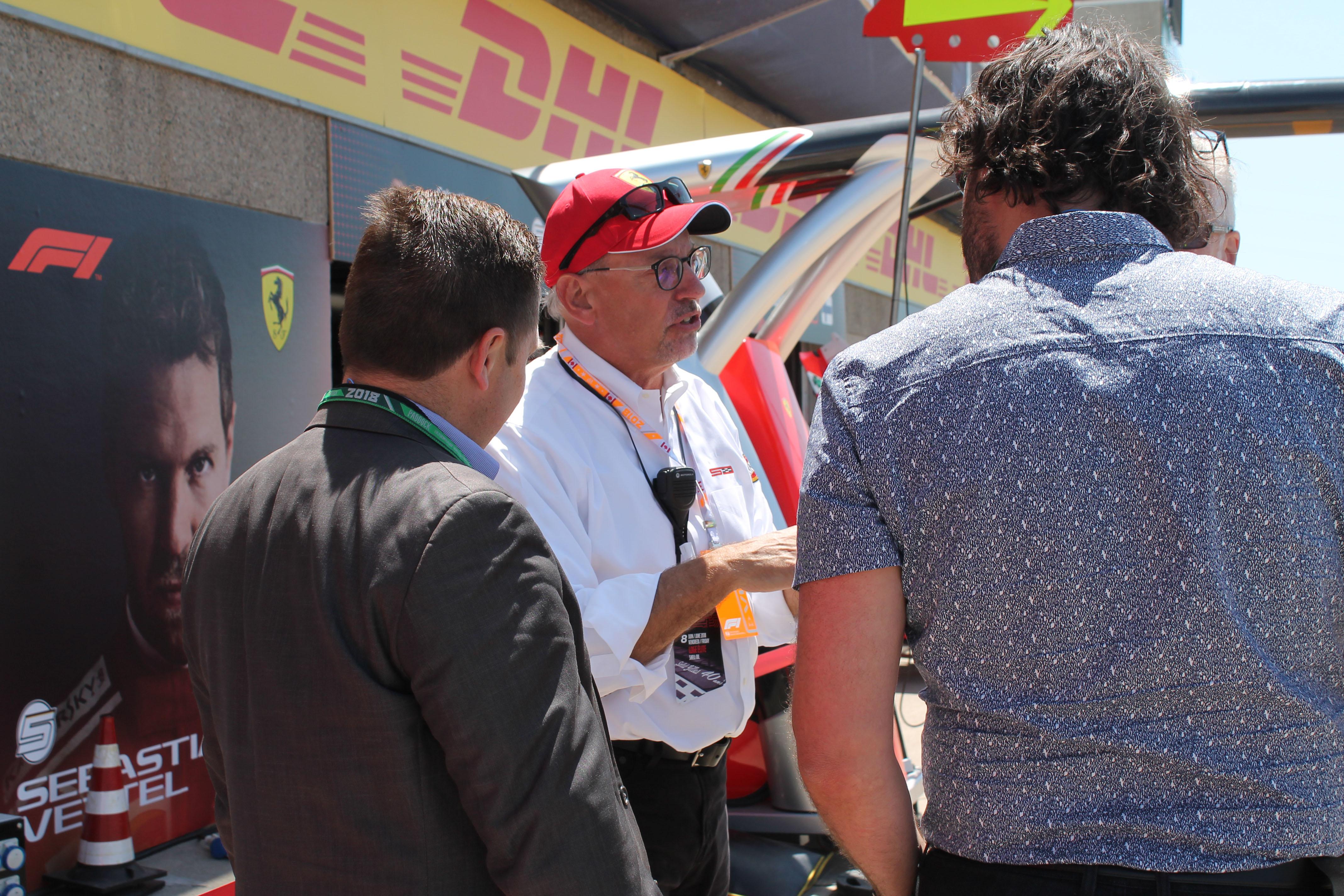 ron-schneider-ferrari-f1-paddock-tour