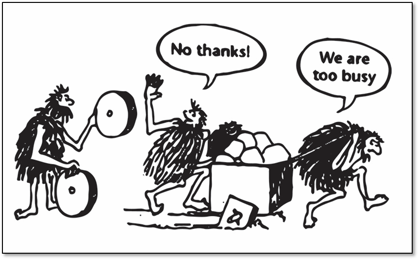 work-smarter-not-harder-cavemen-cartoon